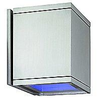 Cube Wall Light (Blue Glass/Blue Glass)-OPEN BOX