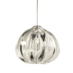 Small Thick Urchin Pendant Light