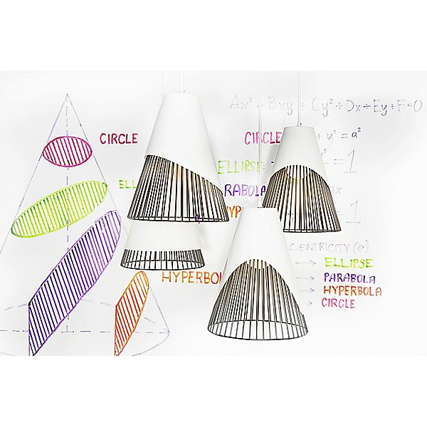Conic Section LED Pendant Light