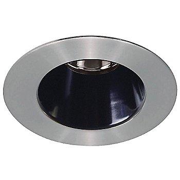 Brushed Nickel finish w/Black interior color