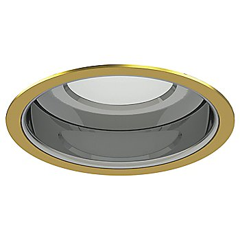 Gold Plated 24K Trim finish with Specular Clear Reflector