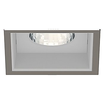 Brushed Nickel Trim finish with Anodized Reflector