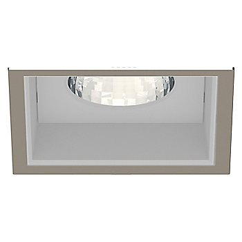 Satin Nickel Trim finish with Anodized Reflector