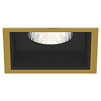 Gold Plated 24K Trim finish with Black Reflector