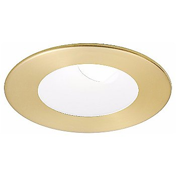 Satin Gold with Matte White finish