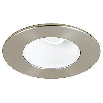 Satin Nickel finish / Clear glass