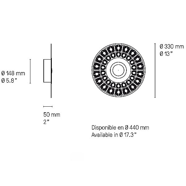 Earth Turtle LED Wall/Ceiling Light