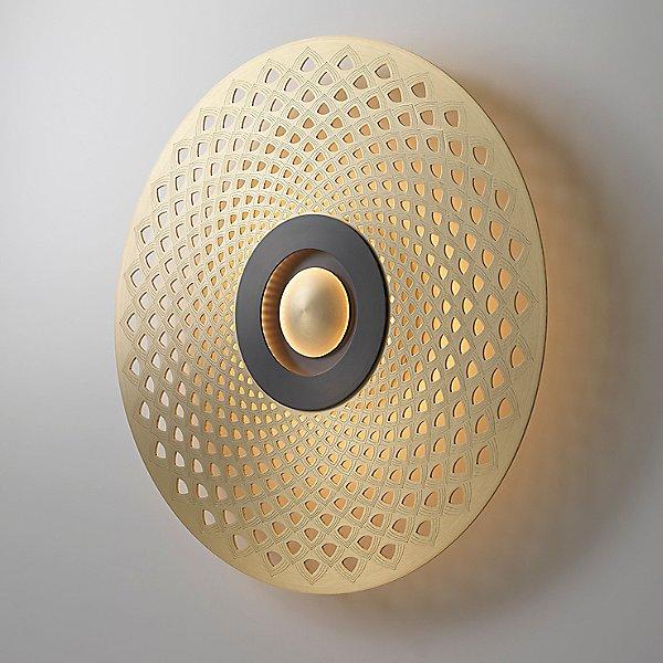 Earth Mandala LED Wall / Ceiling Light