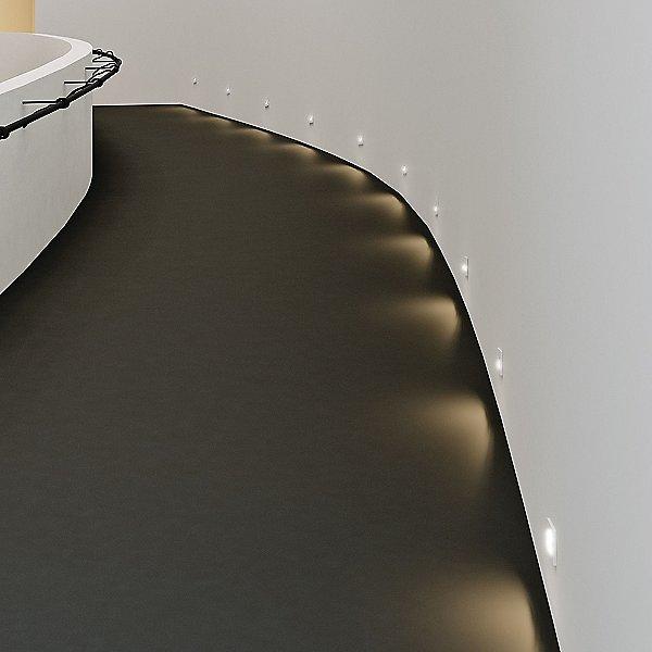 Horizontal Recessed LED Step Light