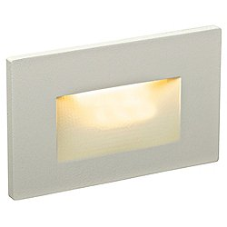 LED FORMS Recessed Horizontal Step Light (Grey) - OPEN BOX