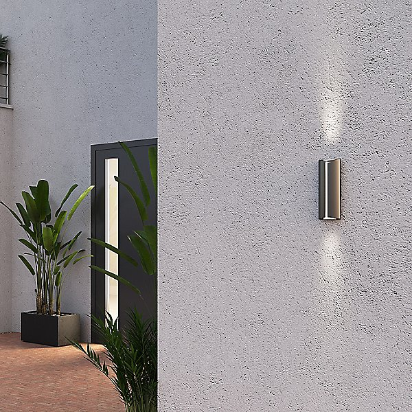 Curved LED Outdoor Wall Sconce