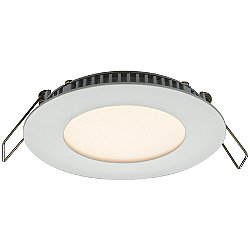 Designer Series 3 Inch Round IC Rated 120V LED Recessed Light Trim