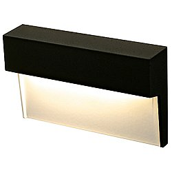 LED FORMS Horizontal Step Light (Black) - OPEN BOX RETURN