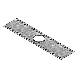 Rough-in Plate for Panel Light
