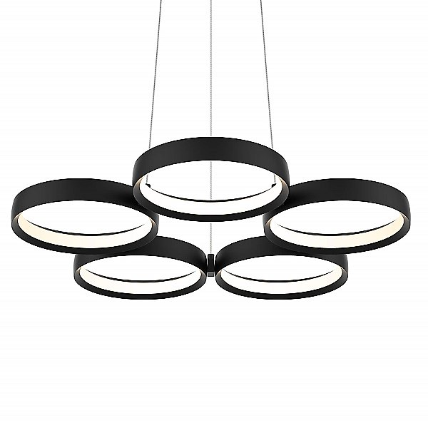 5 Ring Pendant Light