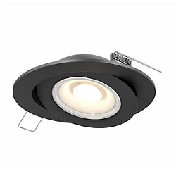 4 Inch Flat Gimbal LED Trim