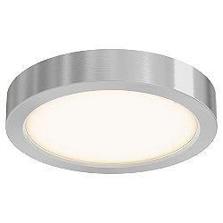 Round LED Flushmount (Satin Nickel/Small) - OPEN BOX RETURN