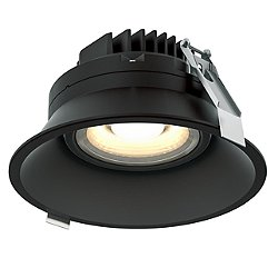 Regressed 6 Inch Gimbal LED Downlight With Thin Trim