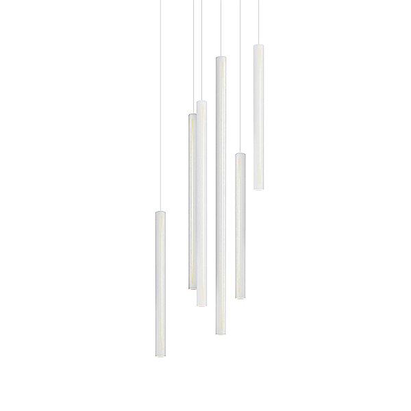 Round 8 Light LED Cluster Pendant Light