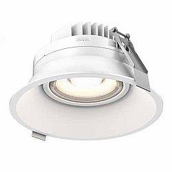 Regressed 6 Inch Gimbal LED Downlight(White)-OPEN BOX RETURN