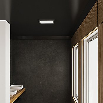 Satin Nickel finish / Large size, illuminated / in use