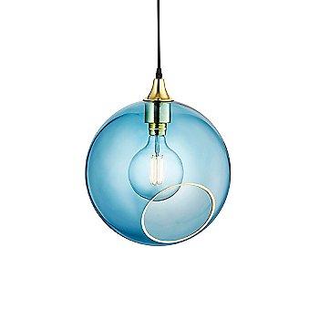 Blue Sky Glass color / Medium size