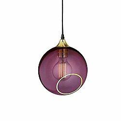 Ballroom Pendant by Design (Purple Rain/S) - OPEN BOX RETURN