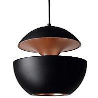 Here Comes the Sun Pendant Light (Black/Copper/L) - OPEN BOX