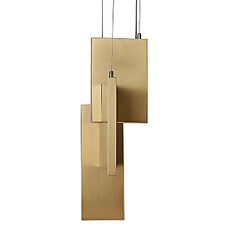 Varnished Brass finish / 13 Inch