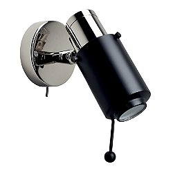 Biny Spot Nickel Base LED Wall Sconce