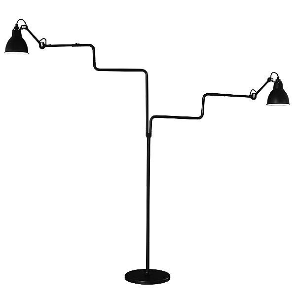 Lampe Gras N°411 Double Floor Lamp