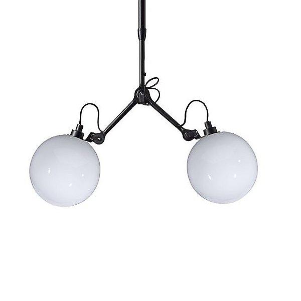 Lampe Gras N° Double Glass Pendant Light