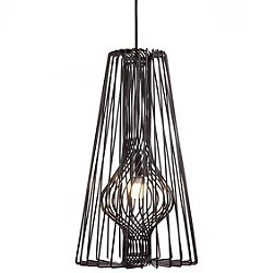 Wire Pendant Light (Black) - OPEN BOX RETURN