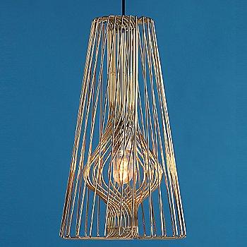 Brass / illuminated / in use