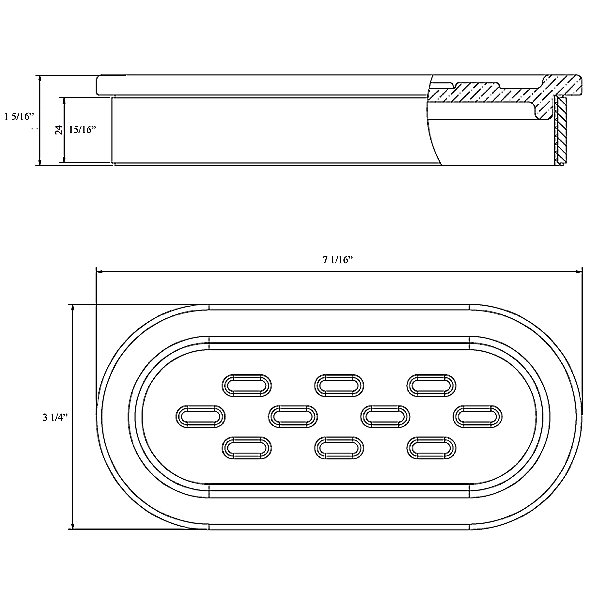 Alchemi Series Tabletop Soap Dish Set