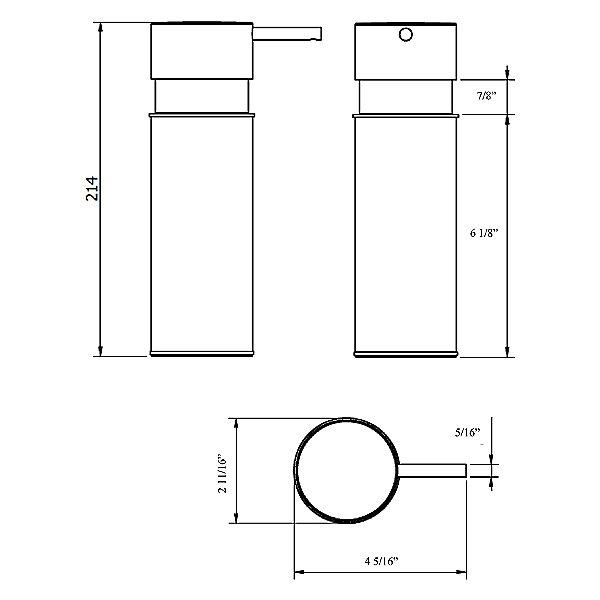 Simpliciti Foaming Soap Dispenser