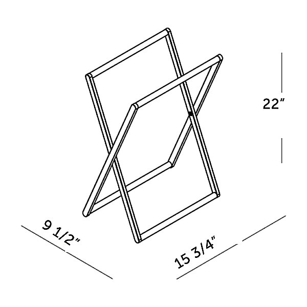 Shower Series Foldable Towel Holder