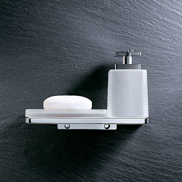 Harmoni Wall Mounted Holder with Soap Dish and Tumbler