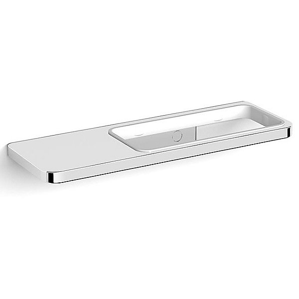 Harmoni Wall Mounted Holder with Soap Dish and Shelf