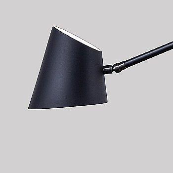 Black Oxidized finish / Black color / Detail view