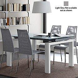Cloud-a Chair, Set of 2 (Light Grey Net) - OPEN BOX RETURN