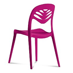 ForYou2 Stacking Chair by Domitalia (Purple)-OPEN BOX RETURN