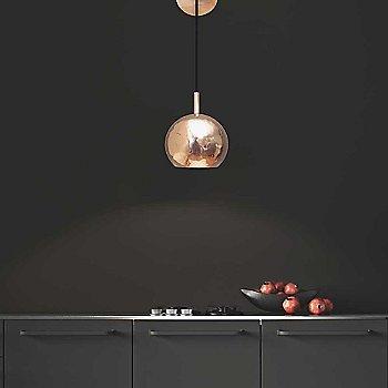 Copper finish / in use