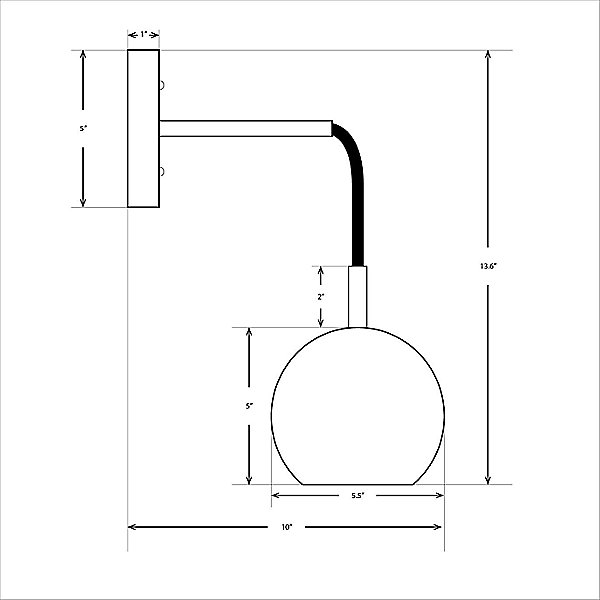 Mishal LED Wall Sconce