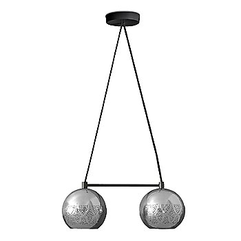 Shown in Silver finish, Large size