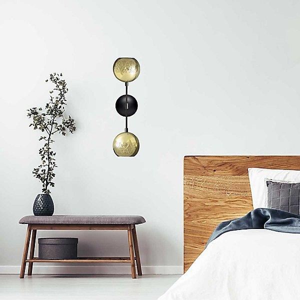 Nur Dual Globe Wall Sconce