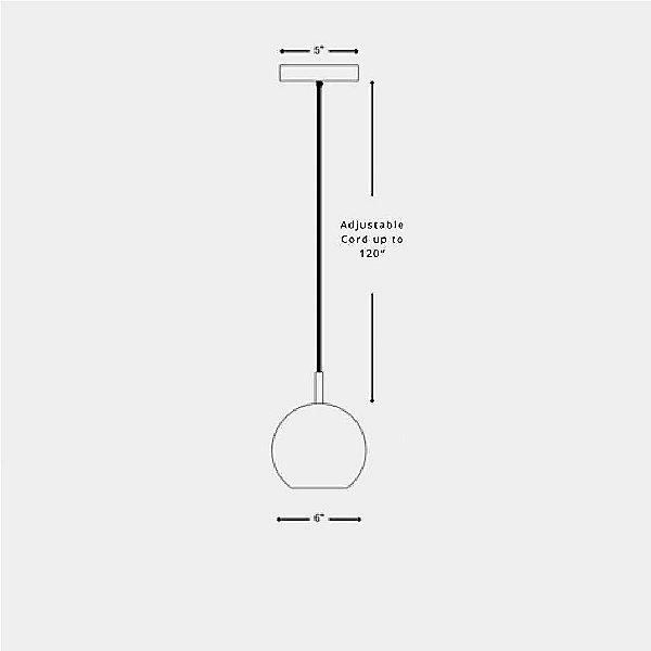 Warda Mini Pendant Light