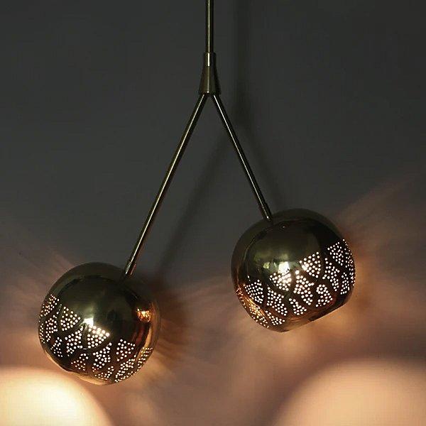 Nur Double Light Pendant Light