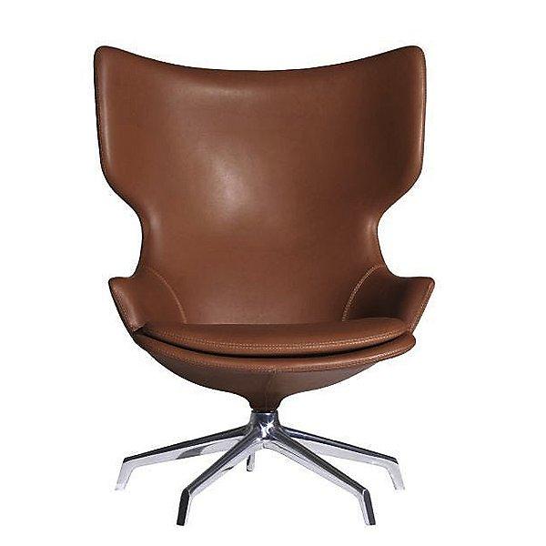 Lou Speak Swivel Lounge Armchair