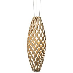 Hinaki LED Pendant Light (Natural Bamboo) - OPEN BOX RETURN